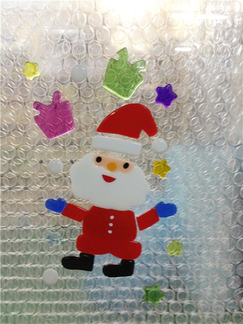 What a kawaii Santa Claus sticker