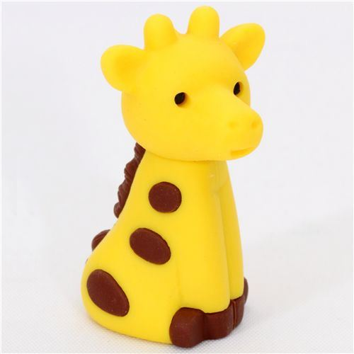 cute giraffe Japanese eraser from Iwako