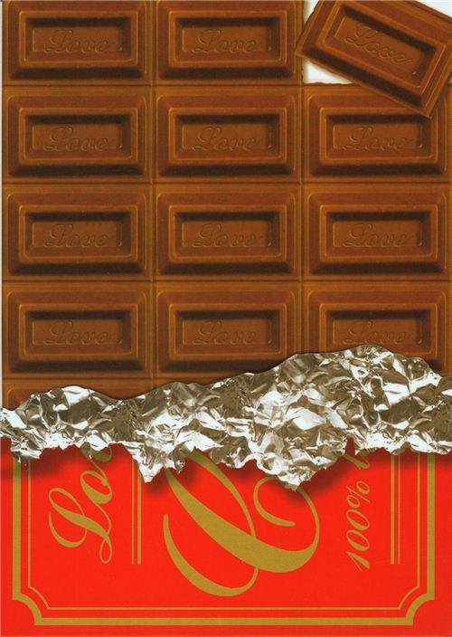 yummy Kamio Memo Pad with chocolate