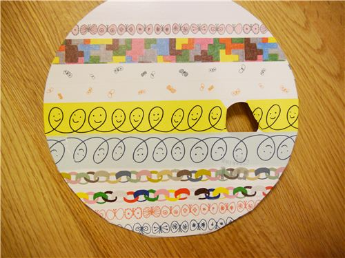 Super funny garland tapes in a craft design