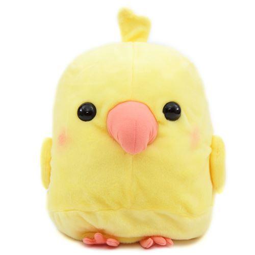 big yellow tissue box cover bird Kotori Tai plush toy Japan
