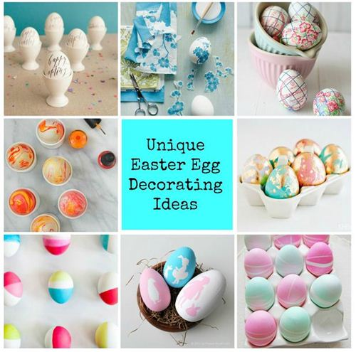 With enchanting pastel colours and a little fantasy, you can create real egg art.