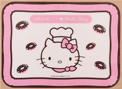 small Hello Kitty silicone junior baking mat from Japan