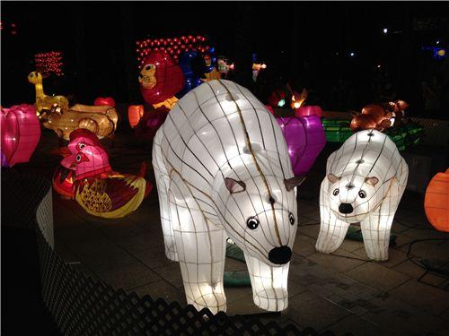 Polar Bear Lanterns
