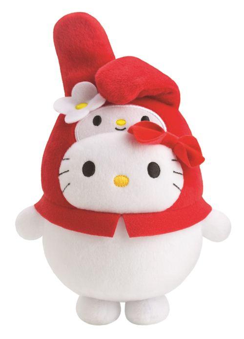Bubbly Day Hello Kitty My Melody plush toy