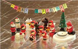 Christmas DIY: Easy Christmas bunting