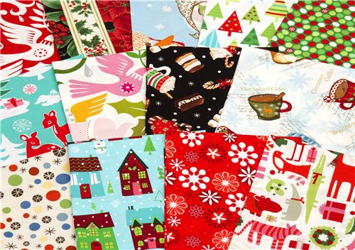 2 participants will get a bundle of 3 Christmas fabric fat quarters from our shop