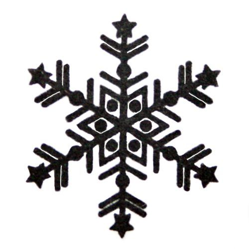 beautiful snowflake stamp Christmas handmade