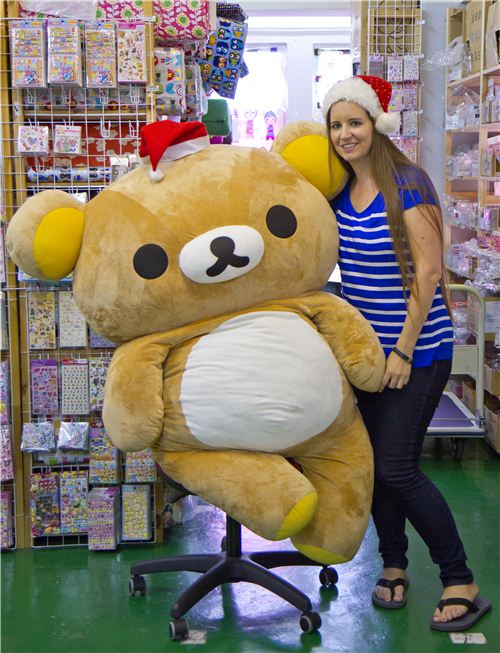 Rilakkuma and Sandra came up with some Christmas gift ideas