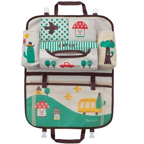 Decole polka dot mushroom cactus car bag Japan