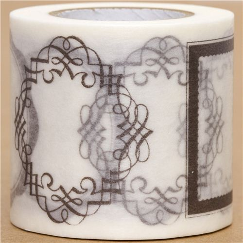 wide mt Washi Masking Tape deco tape with labels