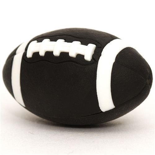 cool black eraser American Football