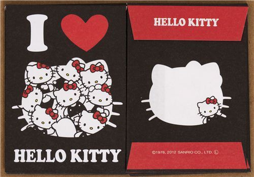 kawaii Hello Kitty cats mini Letter Set from Japan