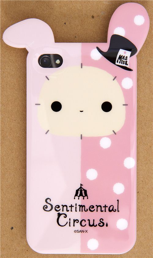 Sentimental Circus bunny iPhone 4S /4 silicone case