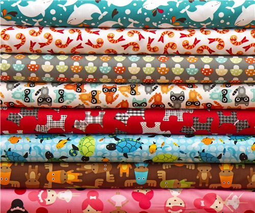 Some of the newest Robert Kaufman fabrics we will add to our shop real soon