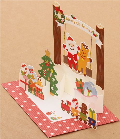 Pop-up cards are a lovely surprise and popular with all age groups.