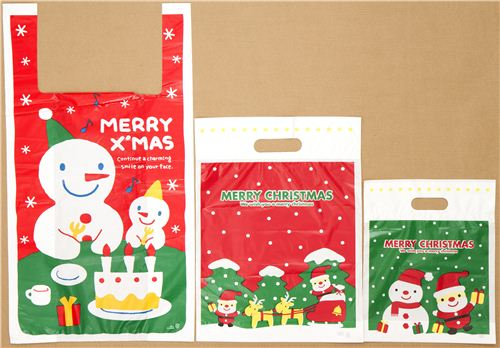 There is a very adorable Snowman & Santa Claus series