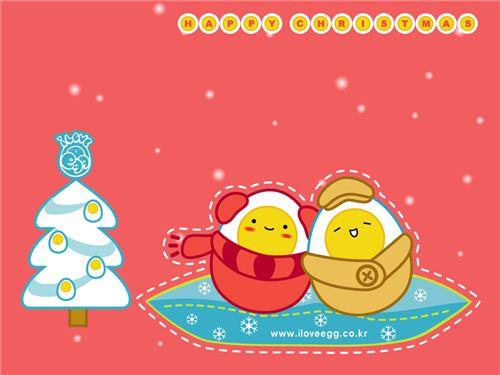 I love egg Christmas wallpapers 10