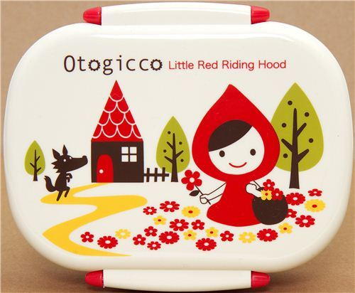 cute red Little Red Riding Hood Bento Box Otogicco