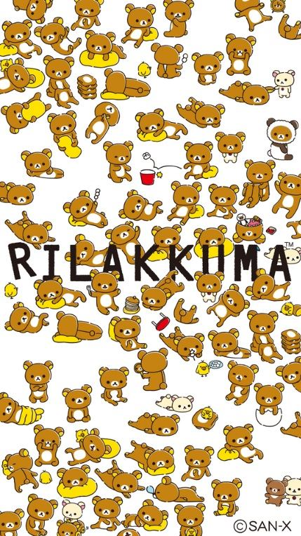 Lots and lots of Rilakkumas!