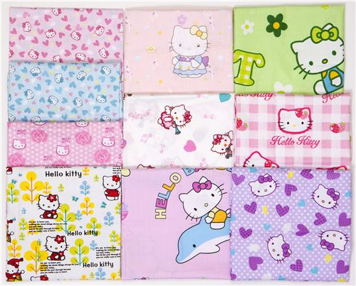 A very special prize: Win these Hello Kitty fabrics in our giveaway