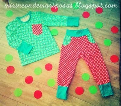Mi Rincon De Mariposas made awesome children's Christmas pyjamas