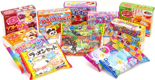 The giveaway winner gets to choose 5 Popin Cookin sets from our collection
