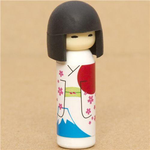Japanese Kokeshi dolls eraser Mount Fuji from Japan