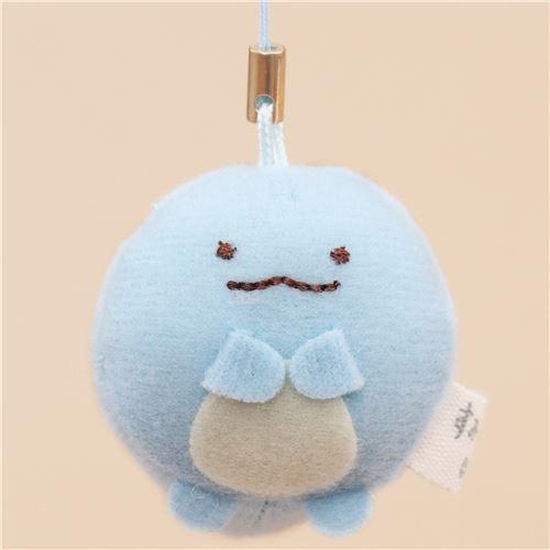mini Sumikkogurashi lizard cute plush charm by San-X
