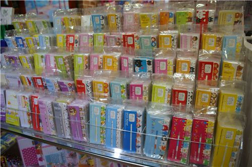Stationery heaven, really lots of cute post-its