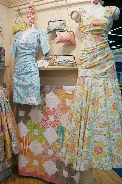 The dresses look beautiful