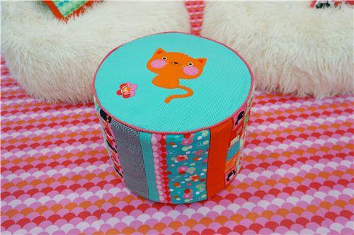 An adorable little fabric chair