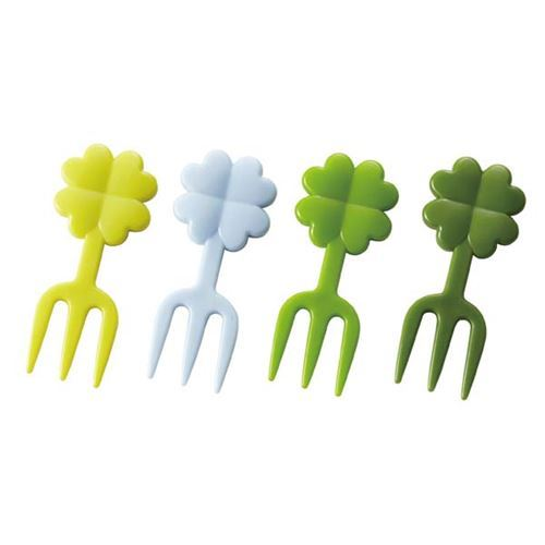 clover food picks forks for Bento Box Lunch Box
