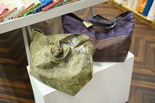Fantastic and practical bags made from these fabrics