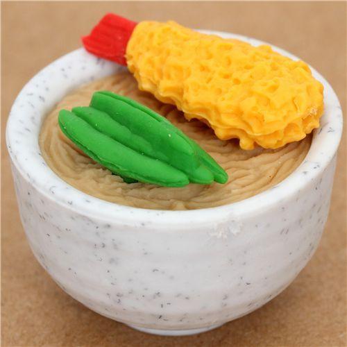 Japanese Food Soba eraser from Japan by Iwako