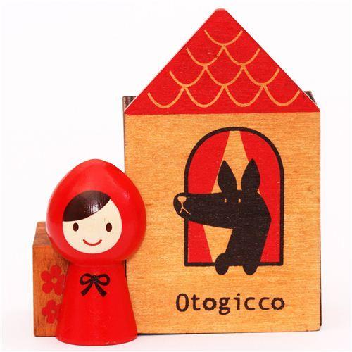 Little Red Riding Hood desk pen stand Otogicco Decole