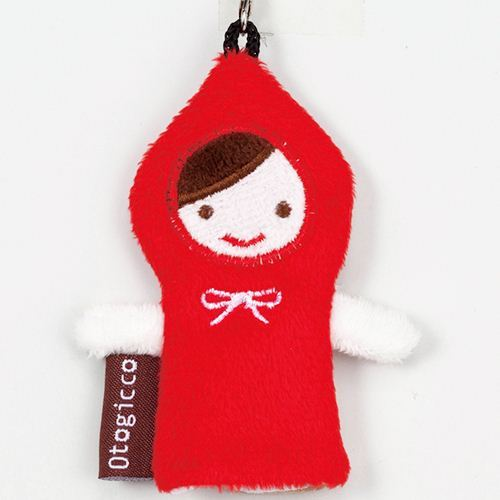 Little Red Riding Hood screen cleaner charm Otogicco Decole