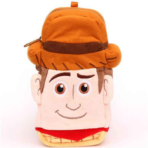 fluffy Toy Story Cowboy Woody plush pencil case