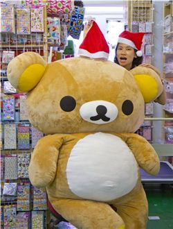 Christmas gift ideas by Rilakkuma and Jacqueline