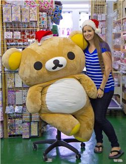 Christmas gift ideas by Rilakkuma and Sandra