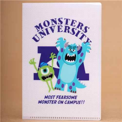 Disney Monsters University 2-pocket A6 mini file folder