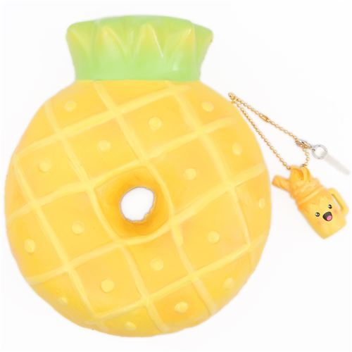 pineapple donut yellow squishy by Puni Maru