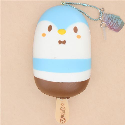 scented penguin ice pop squishy by Puni Maru