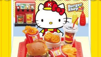New Hello Kitty, Disney and Japanese Food Re-Ments