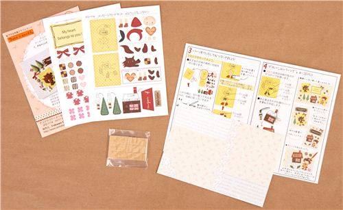 The sets contain cut out templates, sponge stickers and instructions. You need to purchase an embossing tool from our shop separately to complete these sets.