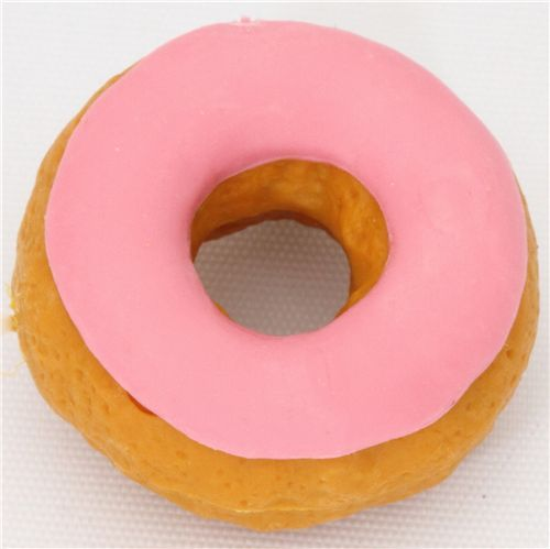 pink donut eraser from Japan by Iwako