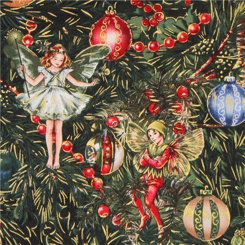 Michael Miller Christmas fabric Christmas Fairy Tale