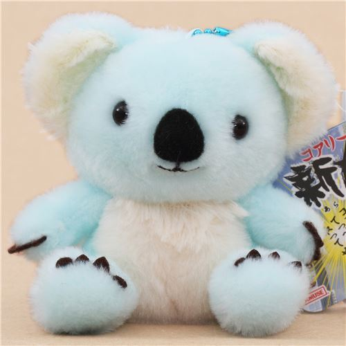cute blue cream koala plush toy from Japan