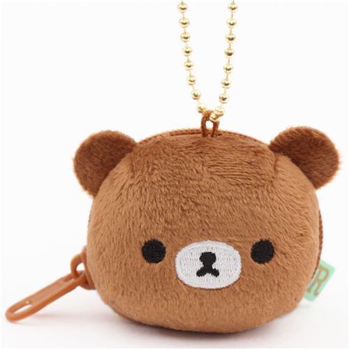 Kogumachan bear small plush bag charm