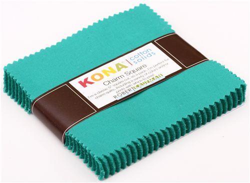 Charm Pack fabric bundle Bluegrass green Robert Kaufman USA